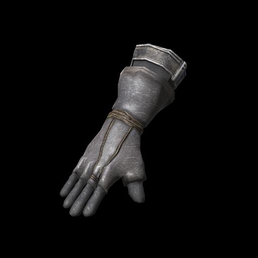 Black Leather Gloves Image
