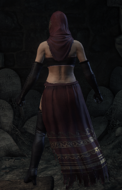 Desert Pyromancer Set - Darksouls3