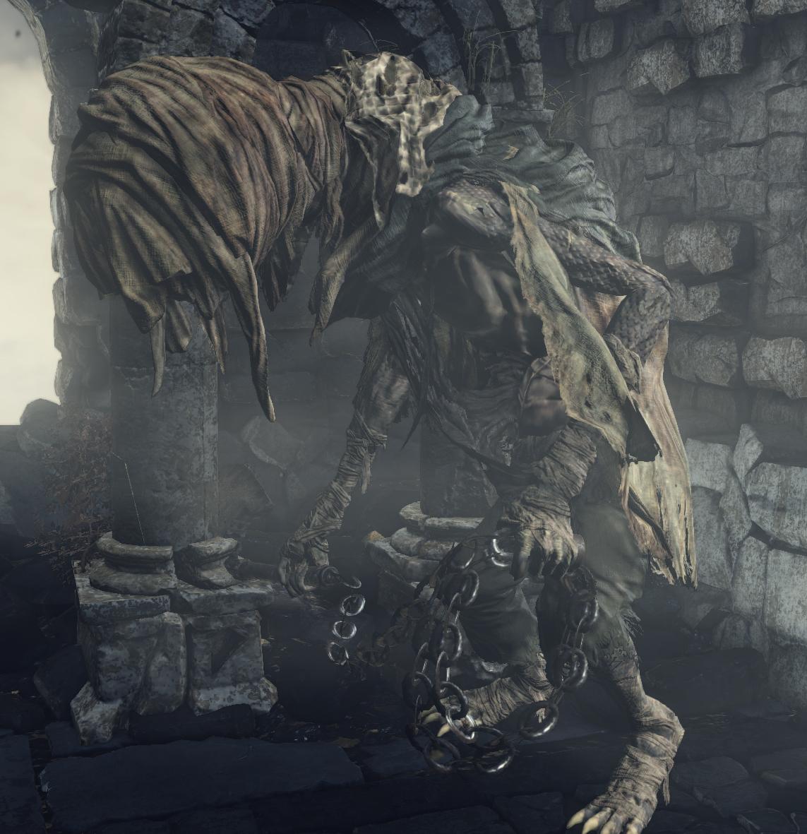dark souls 1 how to get the man serpent greatsword