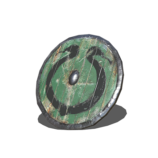 Caduceus Round Shield Image