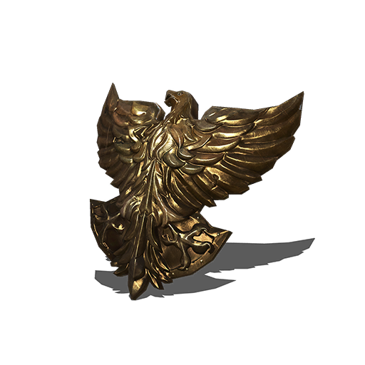 Golden Falcon Shield Image