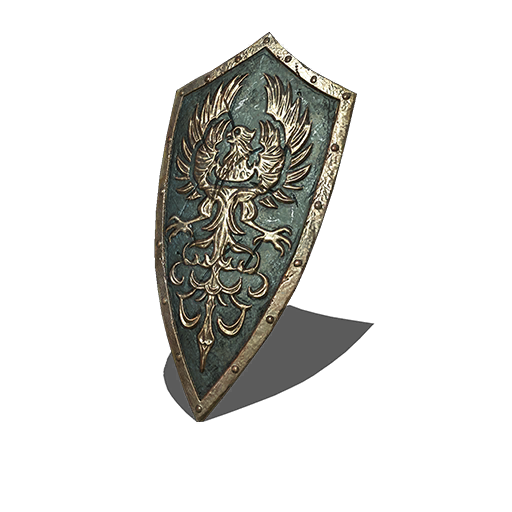 Golden Wing Crest Shield Image