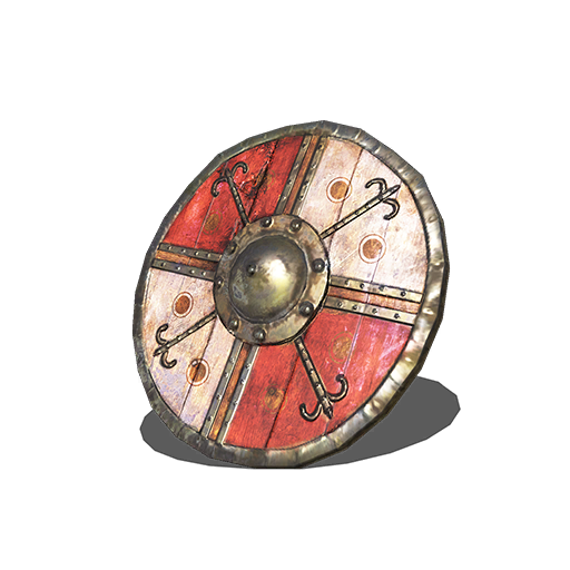 Red and White Shield Image