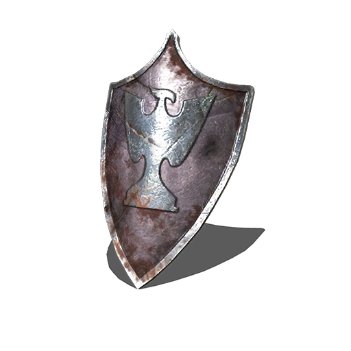 Silver Eagle Kite Shield Image