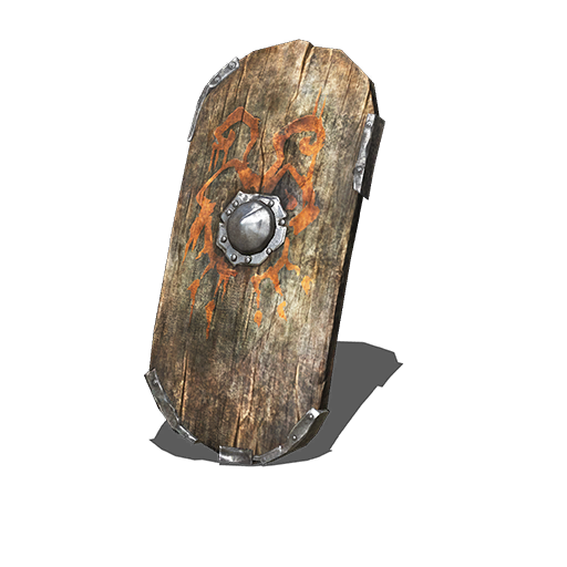 Wargod Wooden Shield Image