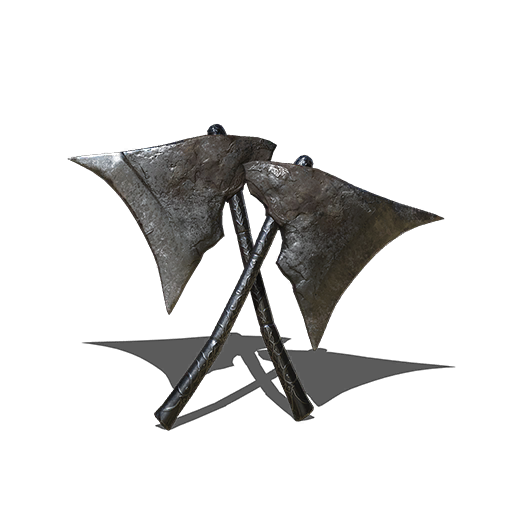 Winged Knight Twinaxes Image