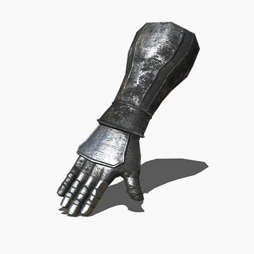 Black Iron Gauntlets Image