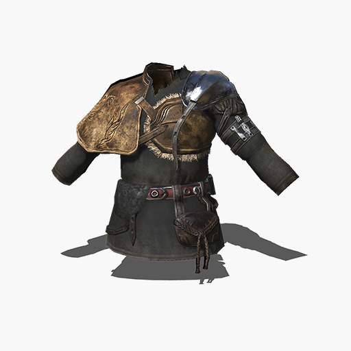 Black Leather Armor Image