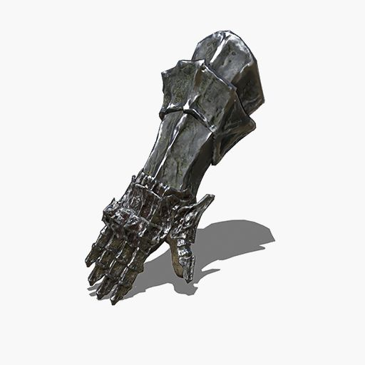 Iron Dragonslayer Gauntlets Image