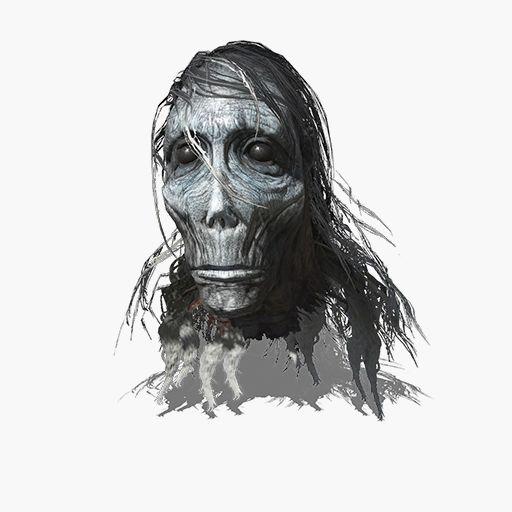 White Preacher Head Image