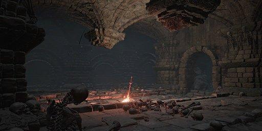 Abandoned Tomb Bonfire Image