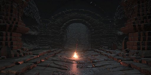 Demon Ruins Bonfire Image