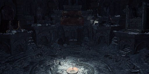 Flameless Shrine Bonfire Image