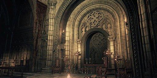 Lothric Castle Bonfire Image
