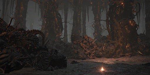 Old Demon King Bonfire Image