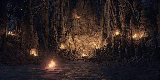 Pit of Hollows Bonfire Image