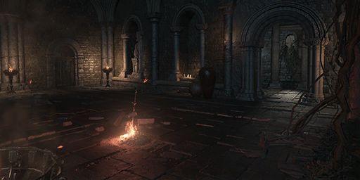 Ringed Inner Wall Bonfire Image