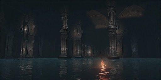 Water Reserve Bonfire Image