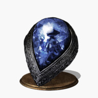Blue Tearstone Ring Icon
