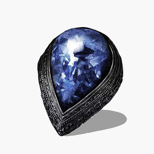 Blue Tearstone Ring Image