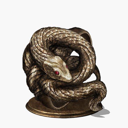 Dark Souls  Covetous Gold Serpent Ring