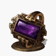 Dark Stoneplate Ring +1 Icon