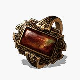 Flame Stoneplate Ring Icon