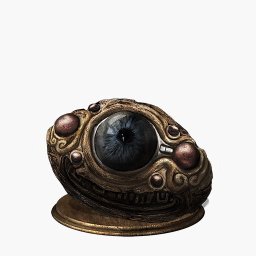 Pontiff's Right Eye Image