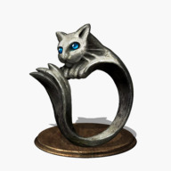 Silvercat Ring Icon