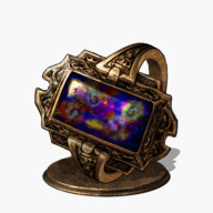 Speckled Stoneplate Ring Icon