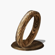 Wood Grain Ring Icon