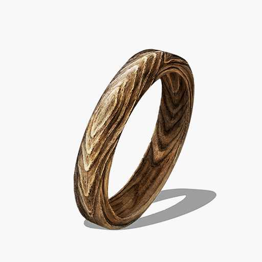 Wood Grain Ring Image