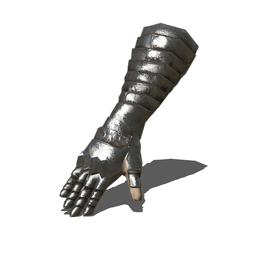 Silver Knight Gauntlets Image