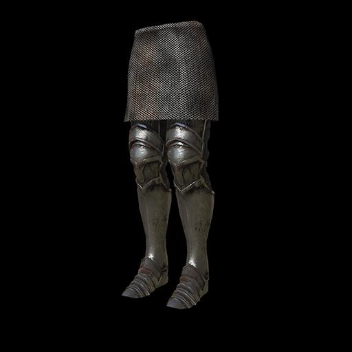 Silver Knight Leggings Image
